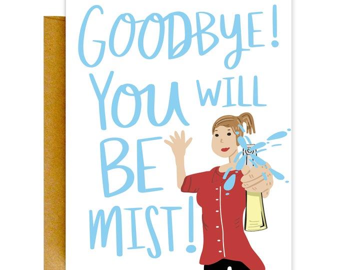 Goodbye Card, Farewell Card, Retirement Card, Funny Goodbye Card, Funny Retirement Card, Goodbye Gift, Bon Voyage Card, Funny Cards