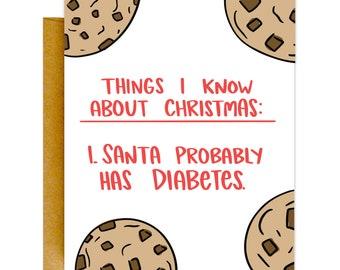 Santa Has Diabetes