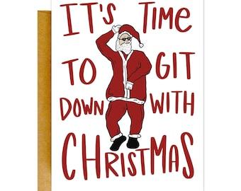 Git Down Santa