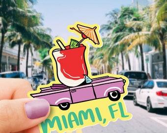Miami Vinyl Sticker