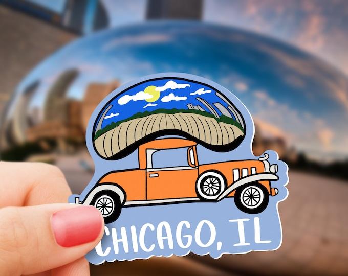 Chicago Vinyl Sticker