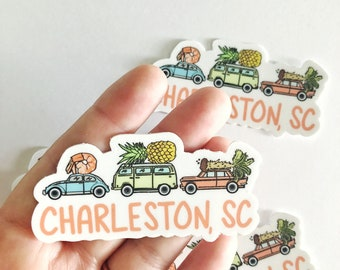 Charleston Vinyl Sticker