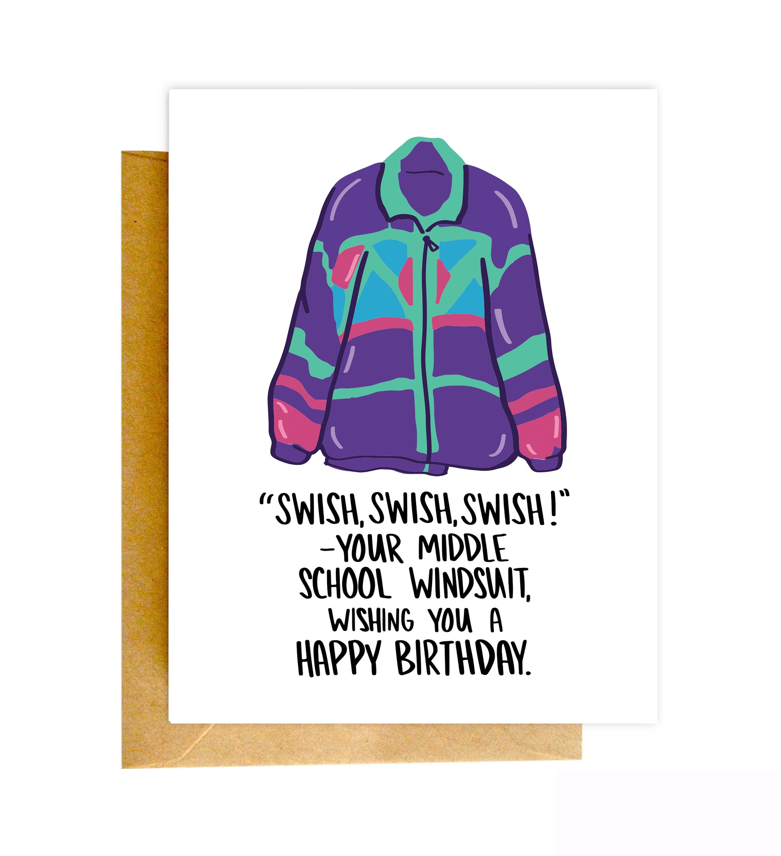 Funny 80s Birthday Card Funny 80s Card Birthday Card Funny Etsy