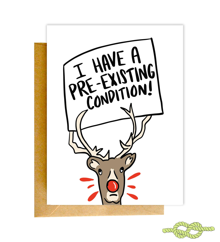 Funny Christmas Card Christmas Card Funny Holiday Card | Etsy