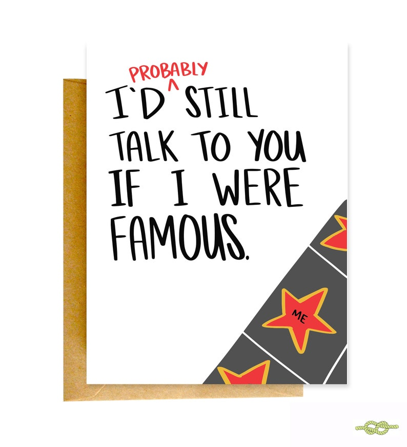 Funny Greeting Card Best Friend Card Funny Encouragment Card Funny Friend Card Inspiration Card Friend Gift Funny Cards