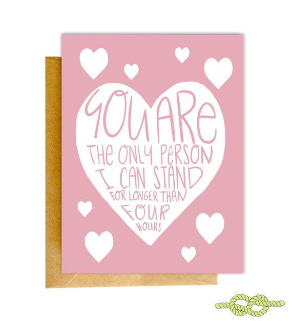 funny valentines day card valentines card funny love card etsy