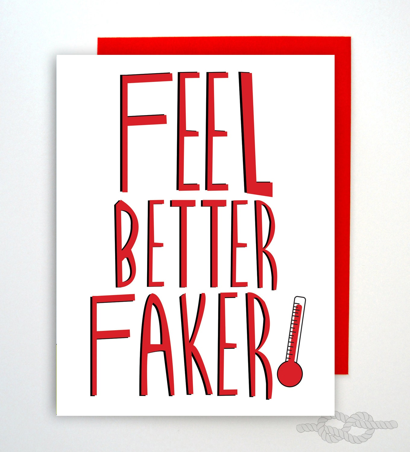 Funny Feel Better Card Funny Greeting Card Feel Better Card Etsy