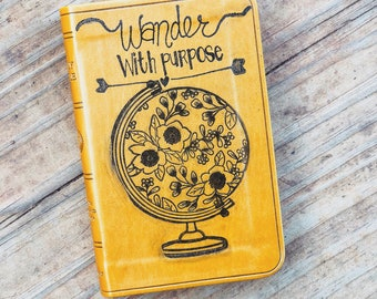 Wander With Purpose- The Journey Bible Project gift Bible