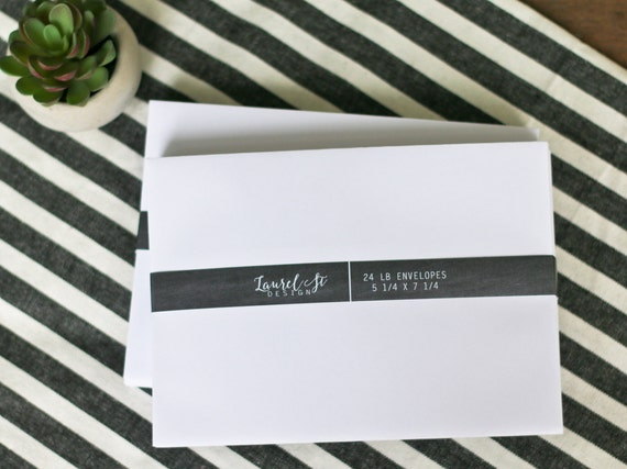 white a7 envelopes invitation envelope size 5 1 4 x etsy