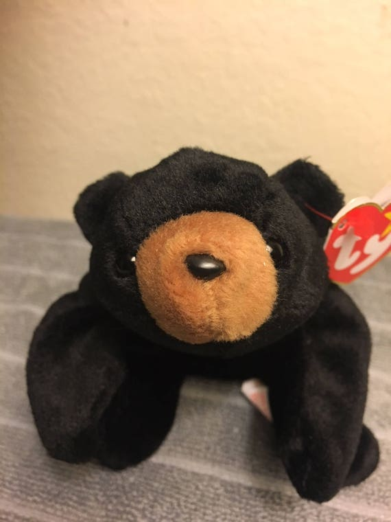 2a2efb5f4ca TY Beanie Baby Blackie with Multiple Tag Errors Retired
