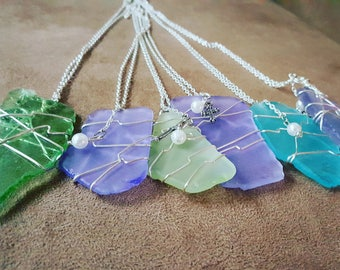 Seaglass Necklace