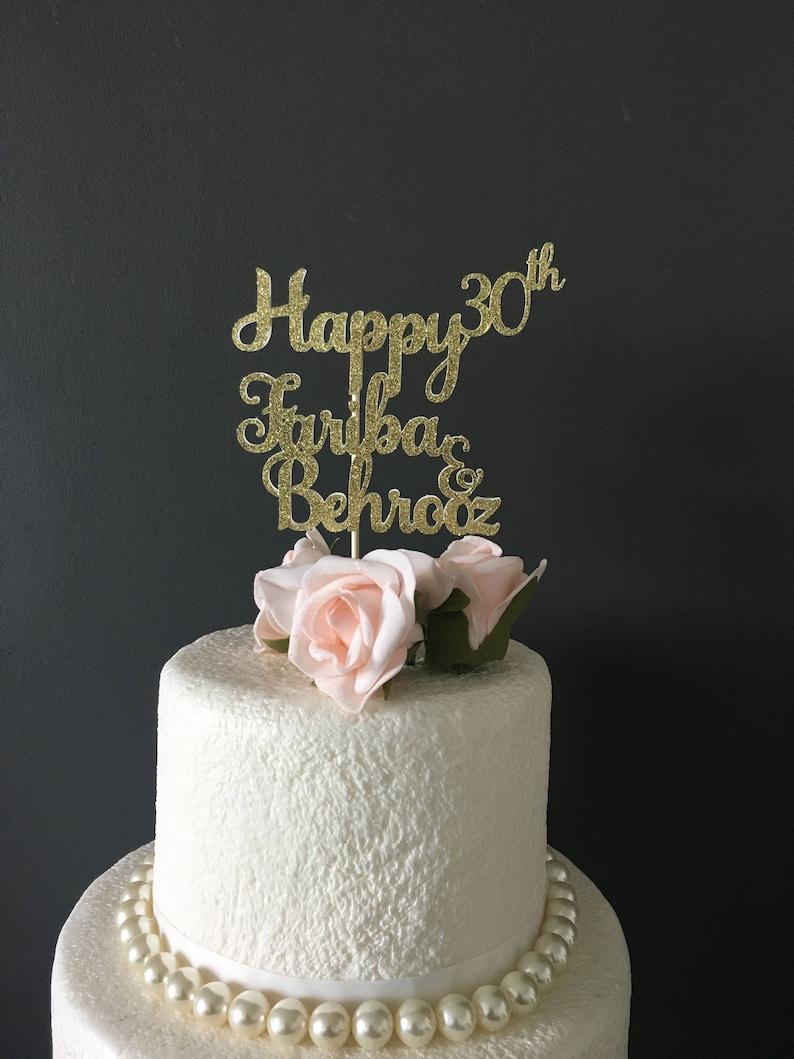 Fine Customized Birthday Cake Topper Birthday Cake Topper Etsy Birthday Cards Printable Giouspongecafe Filternl