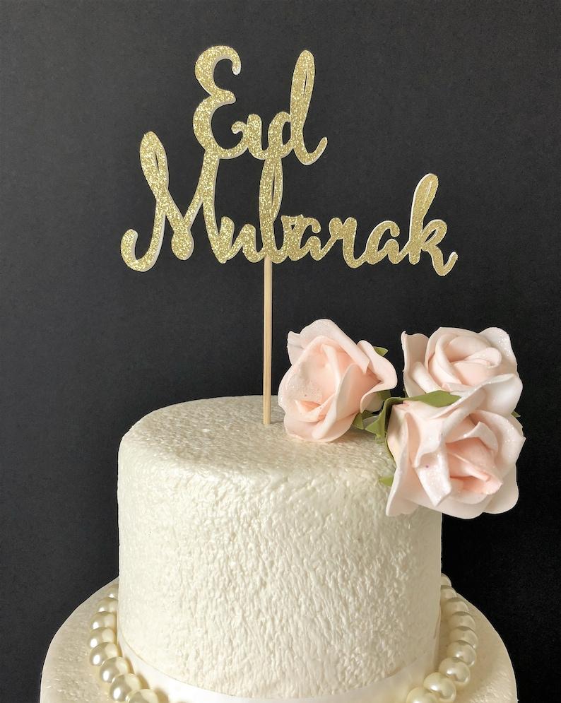 Cake For Eid Mubarak