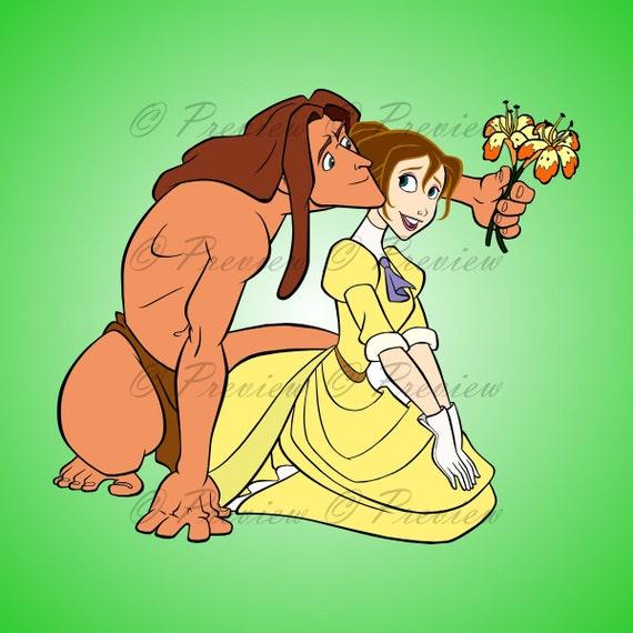 seks z kreskówkami Tarzan bezpłatny międzyrasowy seks analny