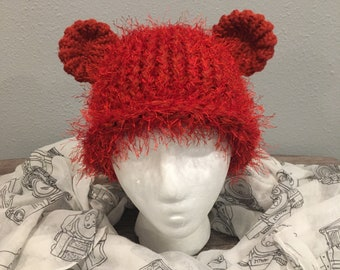 Knit Bear Hat