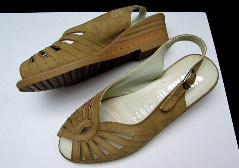 Deadstock vintage sandals shoes spring