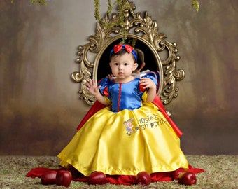 Snow White Costume Etsy