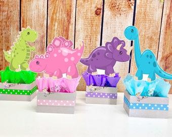 Pebbles flinstone birthday party supplies honeycomb centerpiece table decoration