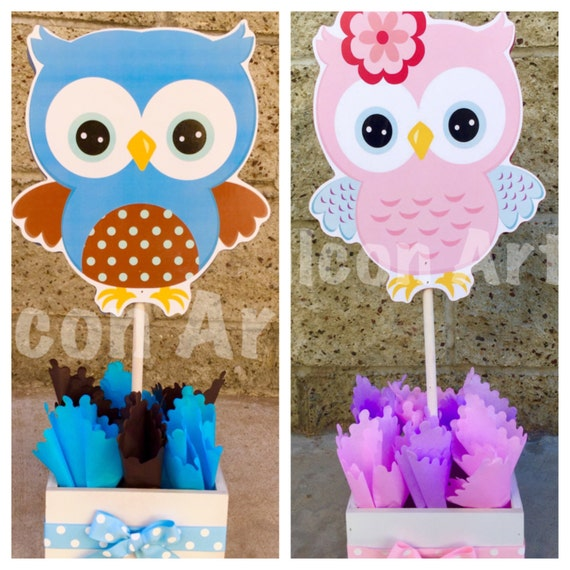 Awesome Owl Baby Shower Centerpiece For Guest Table Owl Centerpiece Owl Baby Shower Decoration Its A Girl Its A Boy Owl Owl 1St Birthday Centerpiece Download Free Architecture Designs Scobabritishbridgeorg