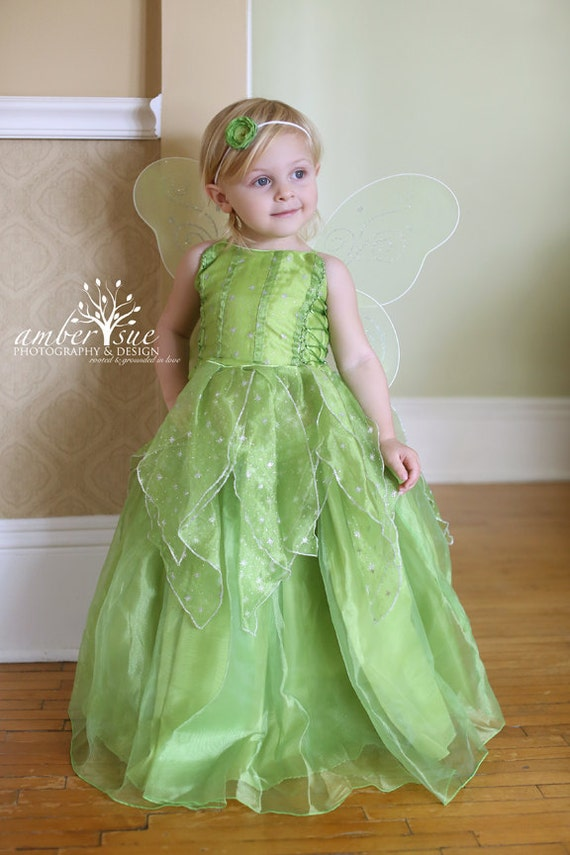 Tinkerbell Fairy dress for Birthday costume or Photo shoot | Etsy