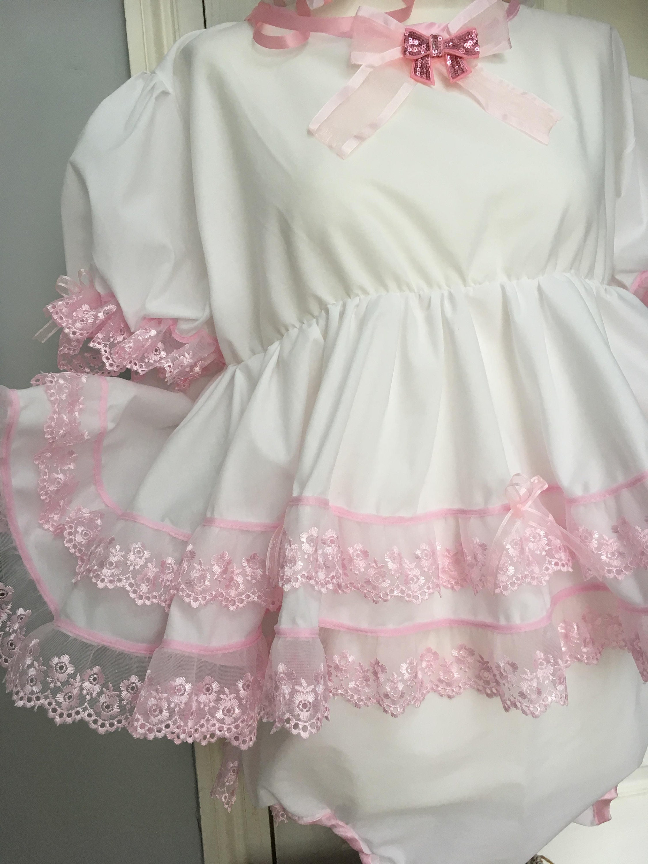 Sale All Sizes 100gbp Adult Baby Sissy Short Romper Dress