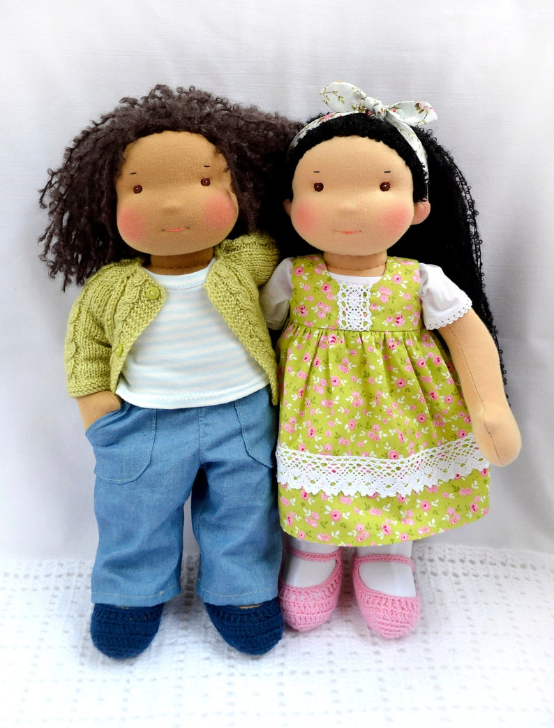98abb5022d6 APRIL Deposit for a custom 1538 cm Waldorf Doll | Etsy