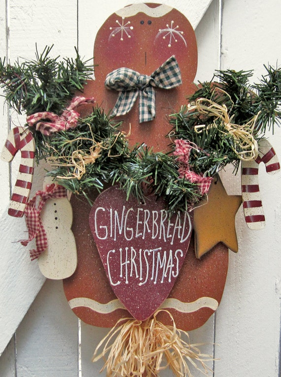 image 0 - Gingerbread Outdoor Christmas Decorations
