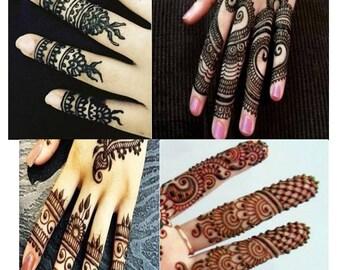 Bridal Henna Designs Ebook Mehndi Pattern Book With Etsy