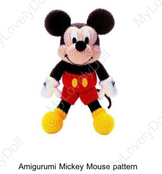Mickey mouse Muster/häkeln Maus/stricken Micky | Etsy