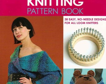 Loom knitting pattern book/Knitted accessories/knitted caps/knitwear patterns/japanese crochet ebook/crochet pattern/instant download