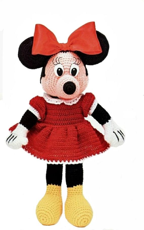 Minnie Mouse Amigurumi Patterncrochet Mouseknitting Minnie Etsy