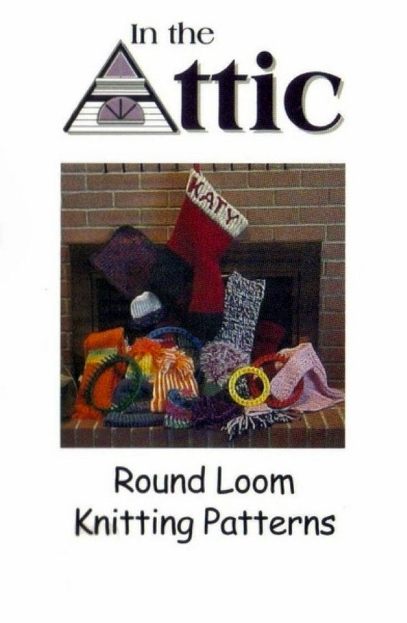 Round Loom Knitting Patternsknitted Accessoriesknitted Etsy