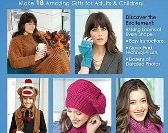 BIG BOOK OF loom knitting/Knitted accessories/knitted caps/knitwear patterns/japanese crochet ebook/crochet pattern/instant download