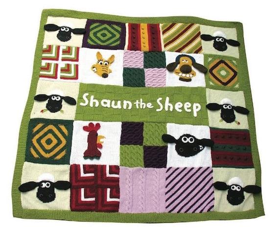 Shaun das Schaf-Picknick Decke /knitting afghanisch/häkeln | Etsy