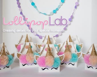 Mini party favors, Unicorn birthday, Unicorn party favor, Birthday, Jewelry box, Candy box, Mini Unicorn party favor set of 10