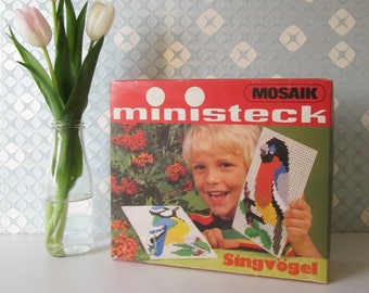 Vintage Ministeck Prestofix Song Birds 80s 17050