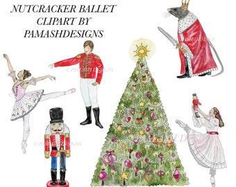 Nutcracker Ballet Clara Clipart