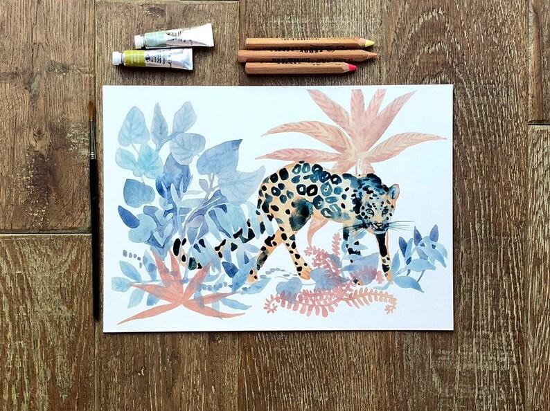 The Jungle  A4 print image 0