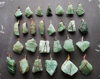 Roisin Necklace Green Aventurine