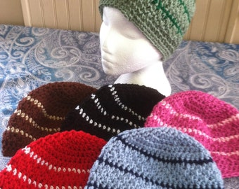 Crochet Beanie Adult Hats