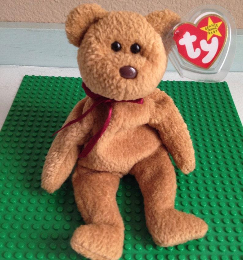 ty beanie baby original retired Curly the bear  29b54dba969