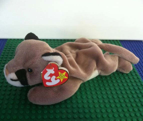Ty Beanie Baby Canyon the cougar retired  8280718436