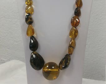 Big Mexican Amber necklace