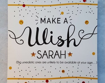 Personalised Fun Friendship Card