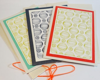 Set of 3 Art Cards- Blank