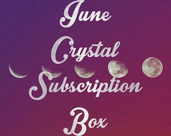 Crystal Subscription Box October Magick Monthly | Etsy