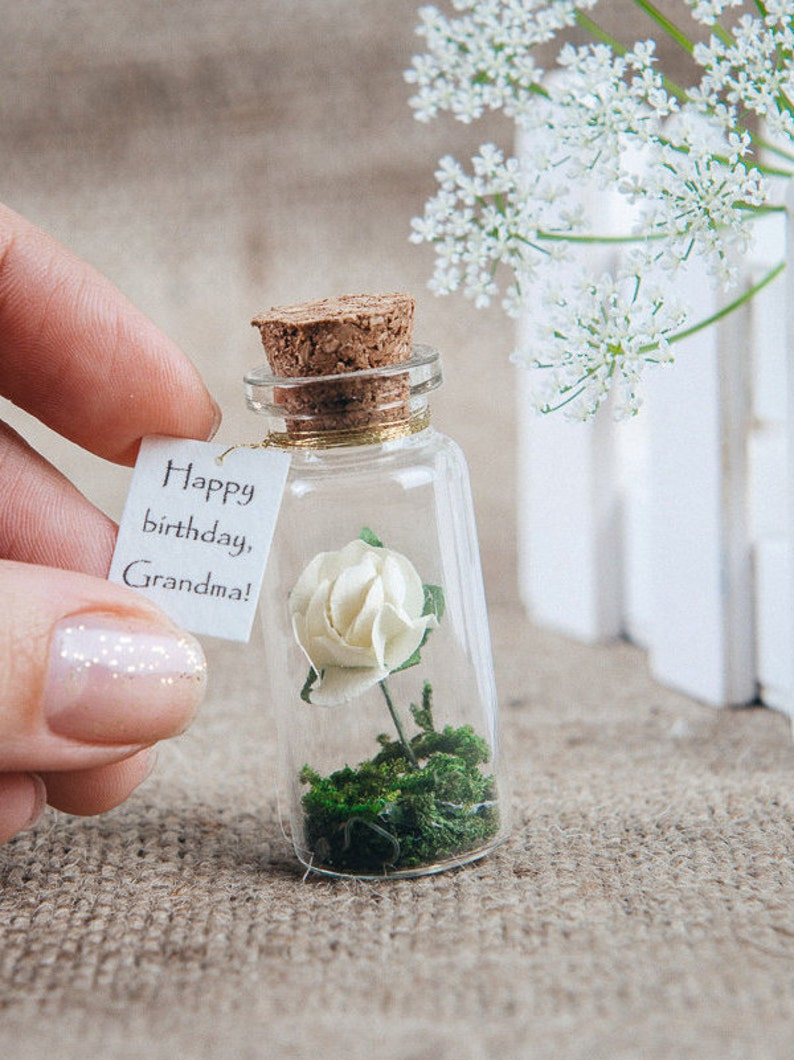 Happy Birthday Gift For Grandma Message In A Bottle Mom