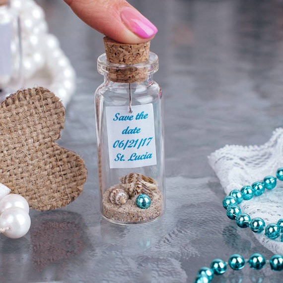 Beach Wedding Favors Blue Wedding Favors Nautical Wedding Seashell Favors Beach Party Gift For Guests Party Favors Mermaid Favors