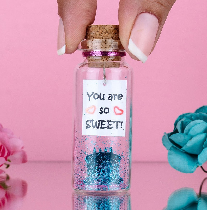 Unique gift for friend Cute gift for her Sweet 16 gift ideas for girl Gift for daughter You are so sweet Message in a Bottle