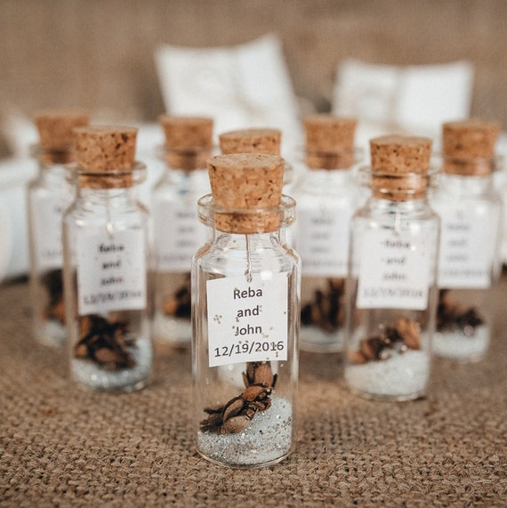 Wedding Favors For Guests Rustic Thank You Gift Personalized Etsy
